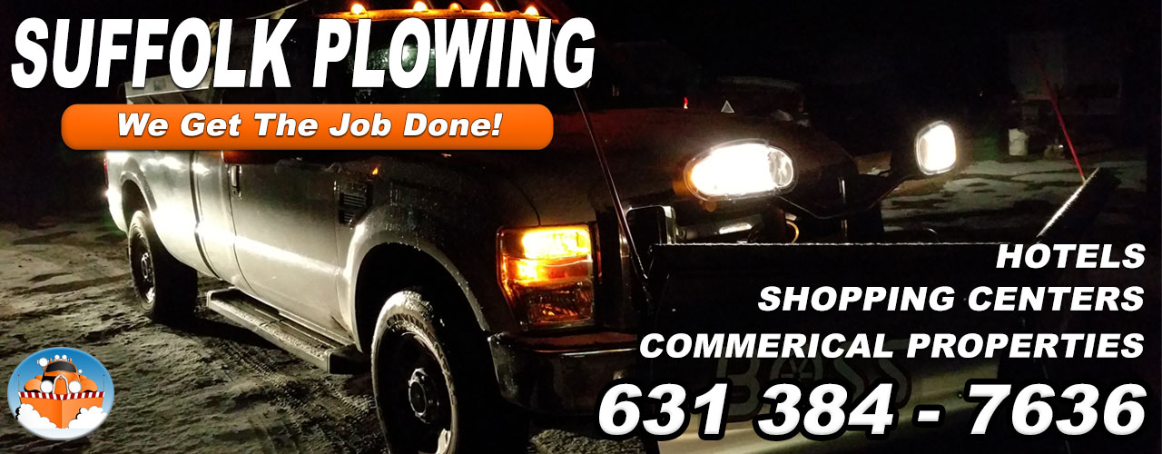 Snow Plowing Snow Removal Suffolk NY