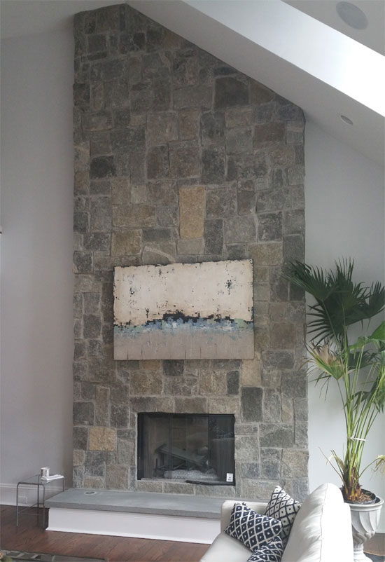 stone fireplaces hamptons long island