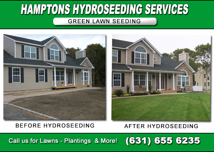 BEFORE AFTER HYDROSEEDING LONG ISLAND