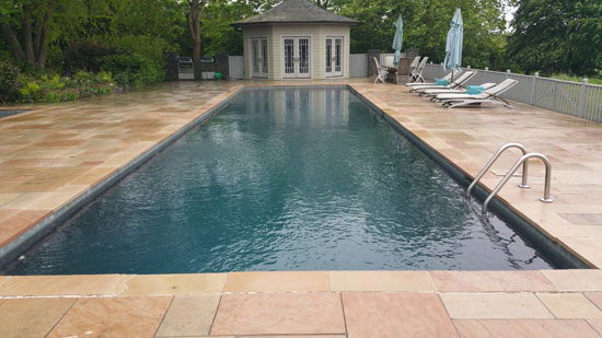 Hamptons Masonry Design Pool Patio Construction