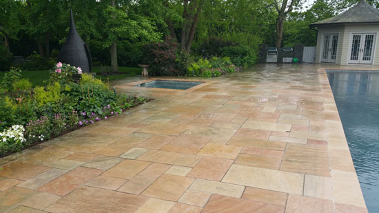 Hamptons Masonry Design Pool Patio Construction Company