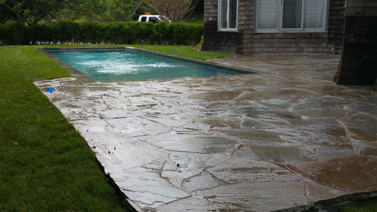Hamptons Masonry Design Flagstone Patio